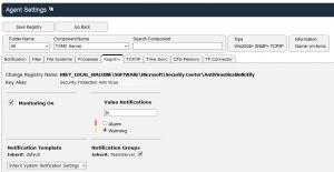 screenshot registry