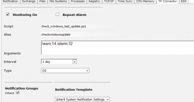 plugin scrips monitoring IT